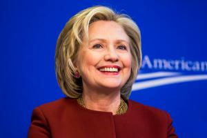 Hillary Clinton speaks in Washington