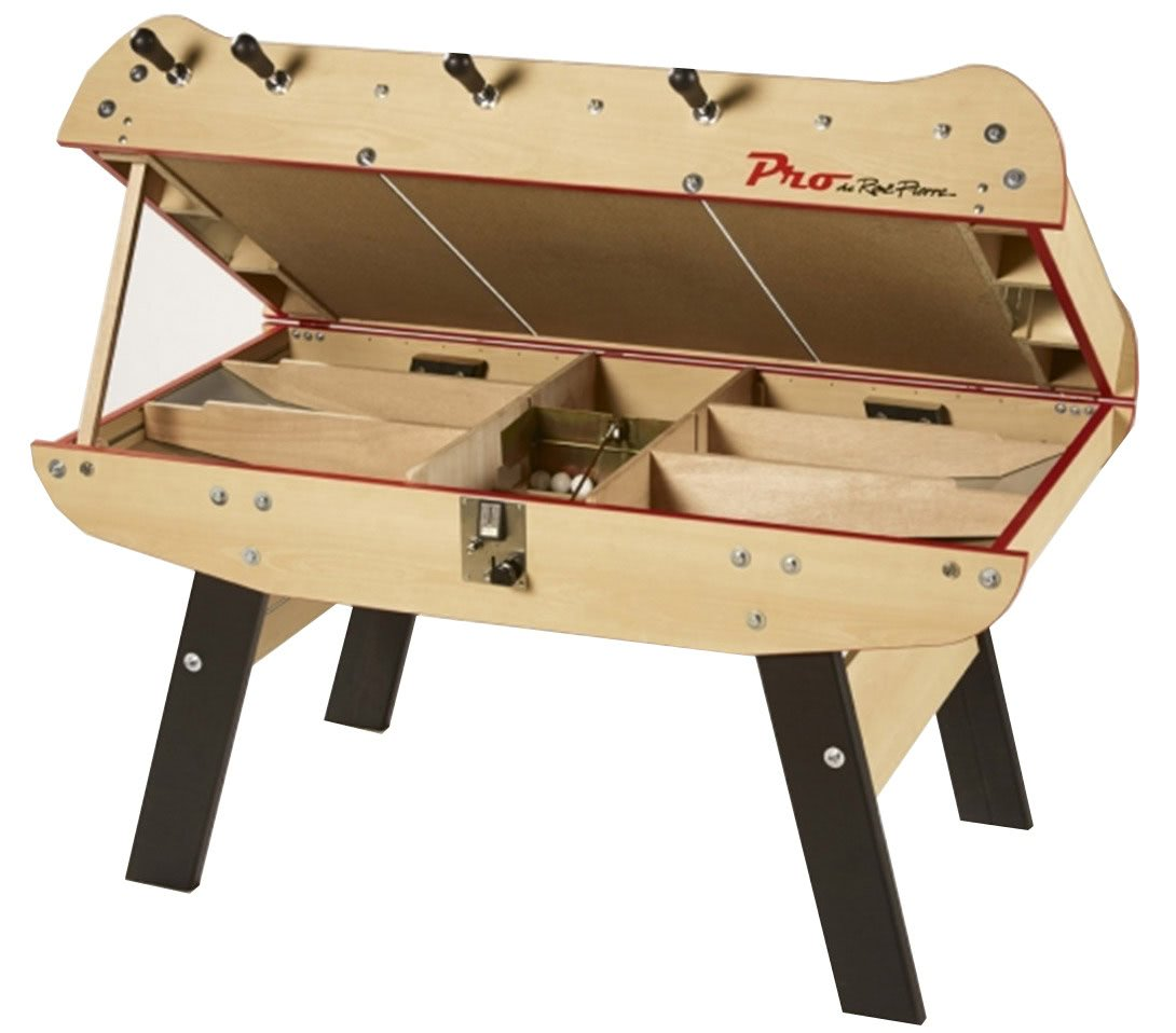 Baby Foot Table A Manger Rene Pierre Baby Foot Pro Coin Operated Football Table