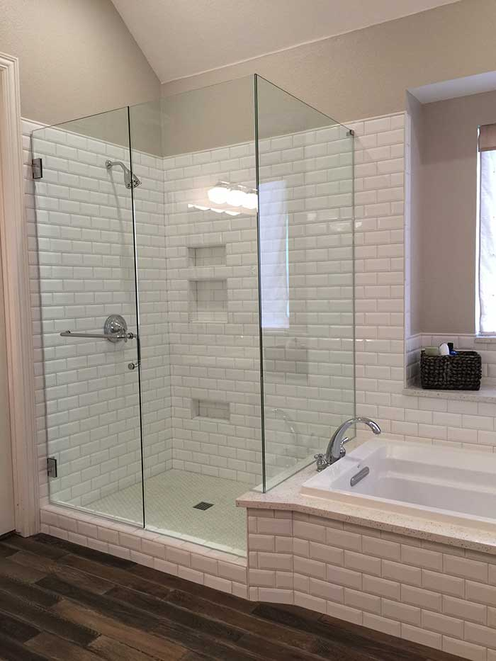 Frameless Mirror Gym Custom Glass Showers Mirrors Glass Liberty Glass