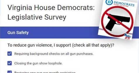 Virginia's Democrats TRICK Survey Asking You to Ban Guns