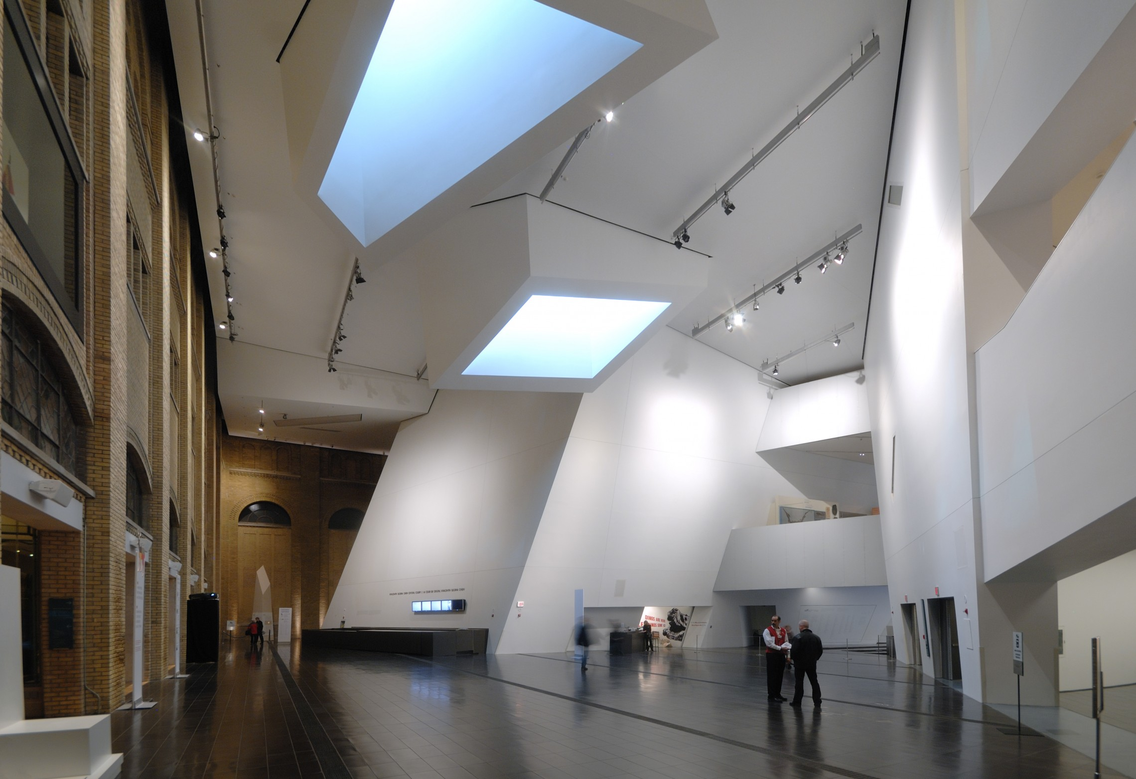 Museum Interieur Royal Ontario Museum Libeskind