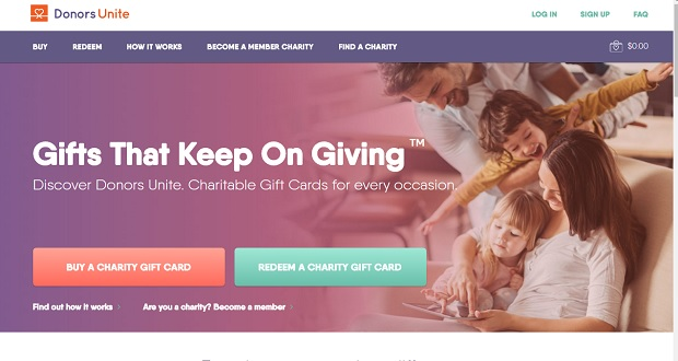 Charity card company launches with 15M choices \u2013 Long Island