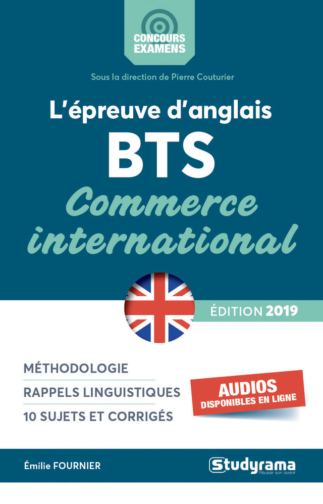 bts commerce international cv anglais