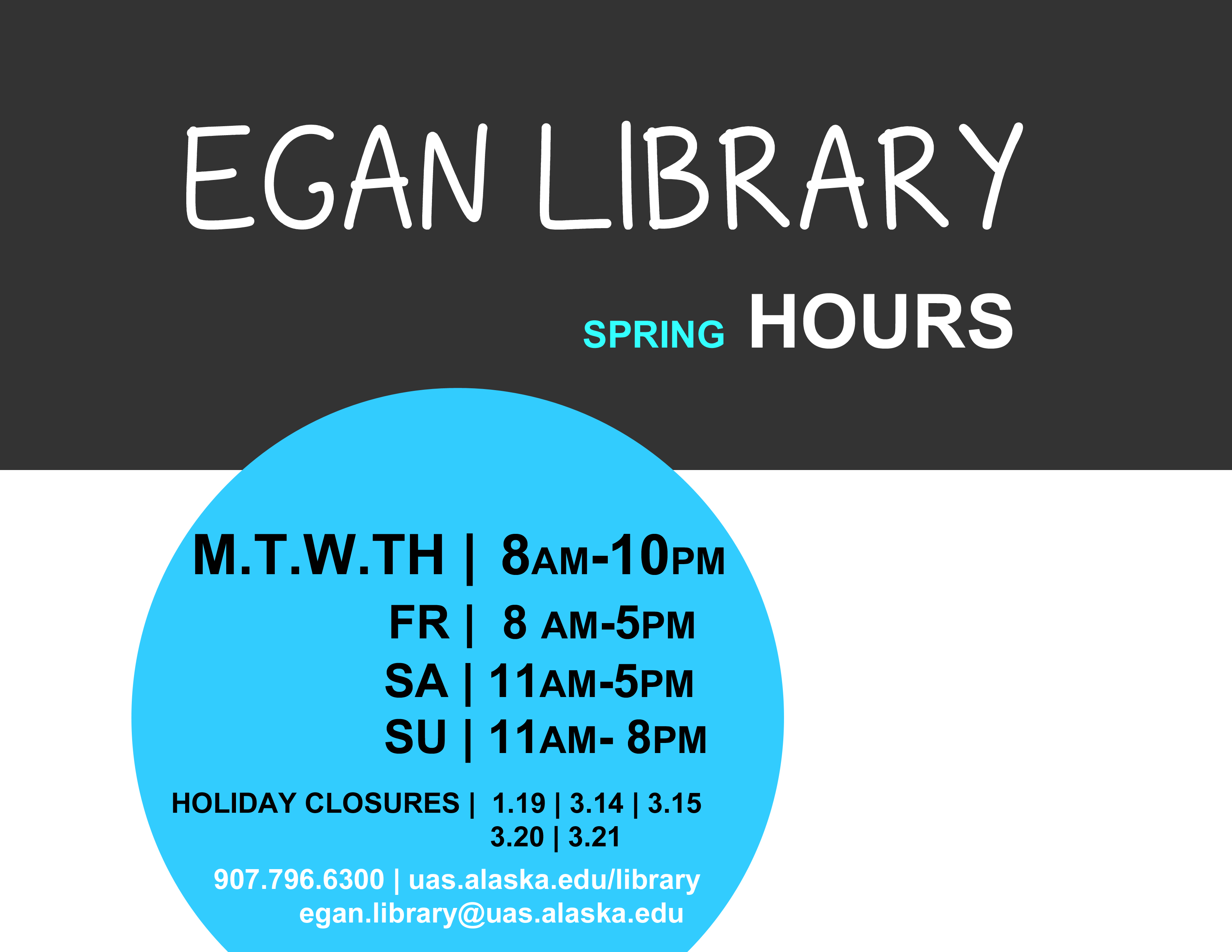 Advertising Hours Librarian Design Share