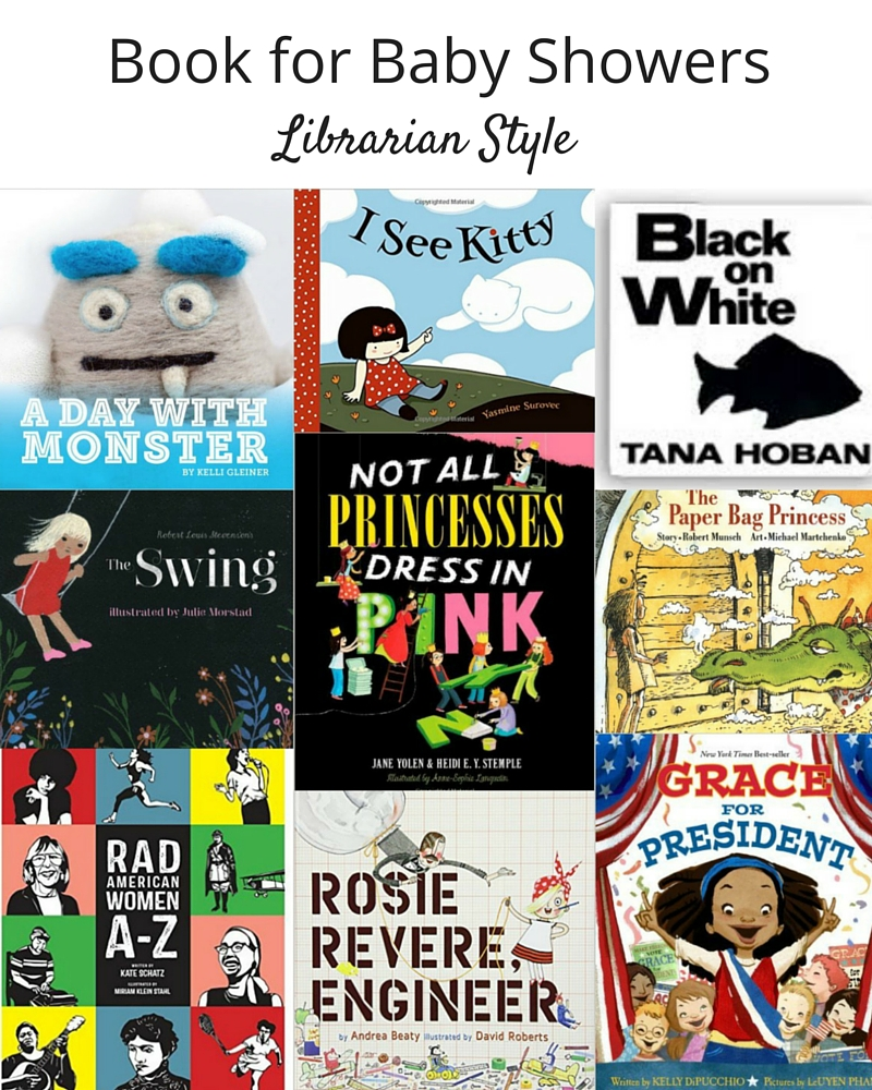 Books for Baby Showers | librarian style