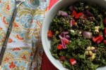 kale black bean quinoa salad recipe