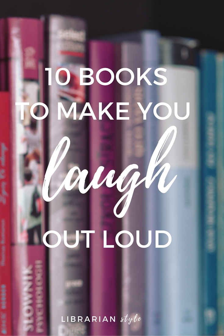 10 books to make you laugh out loud