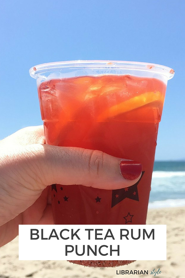 BLACK TEA RUM PUNCH