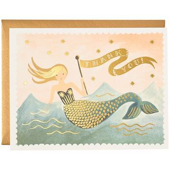mermaid riffle cards