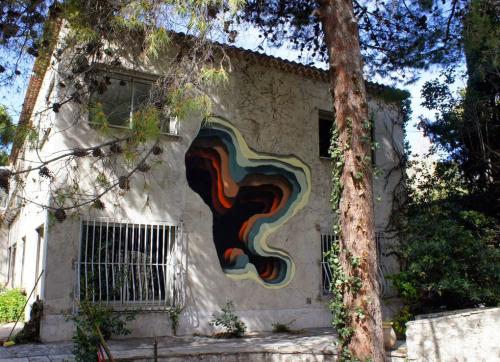 1010 egyik alkotása Marseille-ben