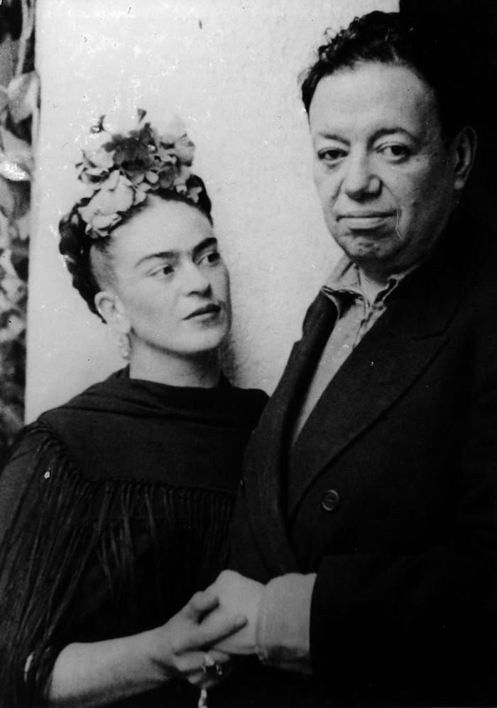 Fotó: Nickolas Muray, Frida és Diego (1940)