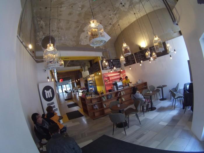 A kávézó