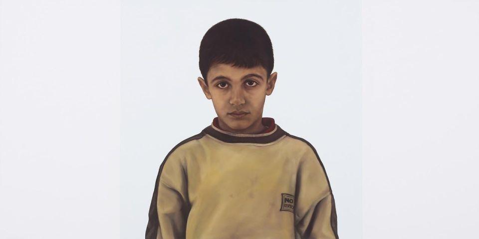 iski Kocsis Tibor: Ahmed, 2005, olaj, vászon
