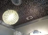 Gothic Reims  Faux Tin Ceiling Tile  Glue up  24x24 ...