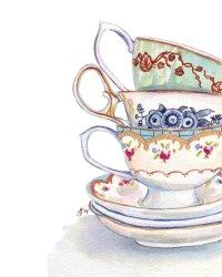 Tea, Teacup, Paint, Cup png clipart free download