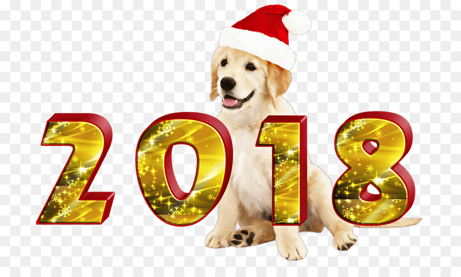 Download happy new year 2018 dog png clipart Dog Chinese New Year