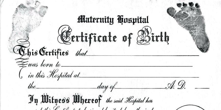 Download birth certificate template clipart Template Birth