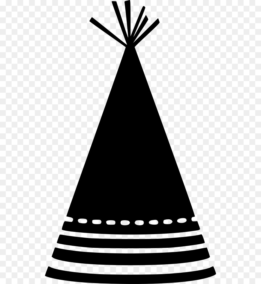 Party Hat Clipart Black And White Hat Triangle Line Transparent Png Image Clipart Free Download