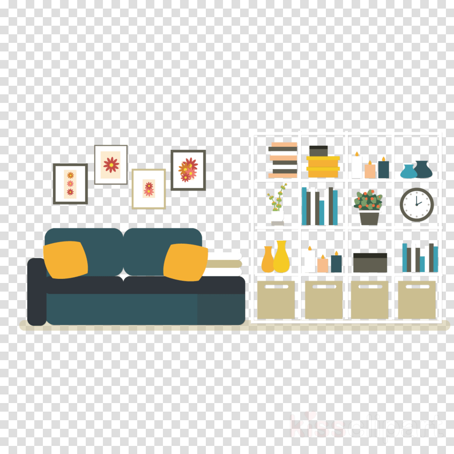 Sofa Set Vector Free Download Design Furniture Television Transparent Png Image Clipart