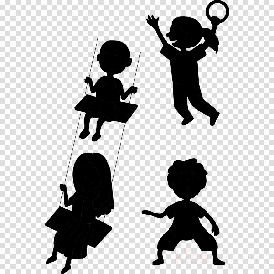 Kinder Cliparts Game Girl Boy Transparent Png Image Clipart Free Download