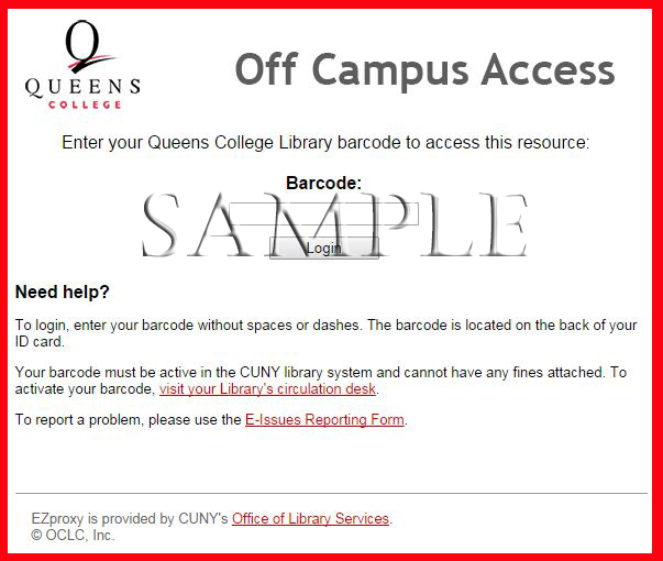 Connect from Home - Rosenthal Library, Queens College, CUNY