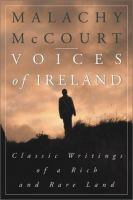 Voices of Ireland book cover by Malachy McCourt
