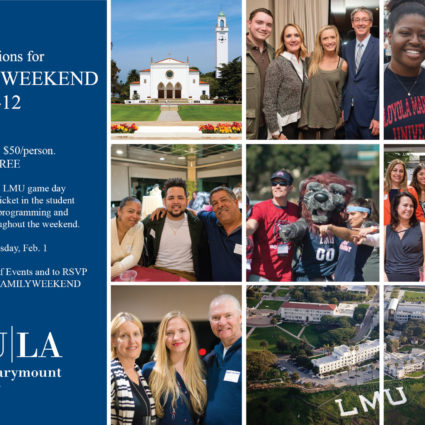 Family Weekend Postcard Invite LMULA10699 1-1