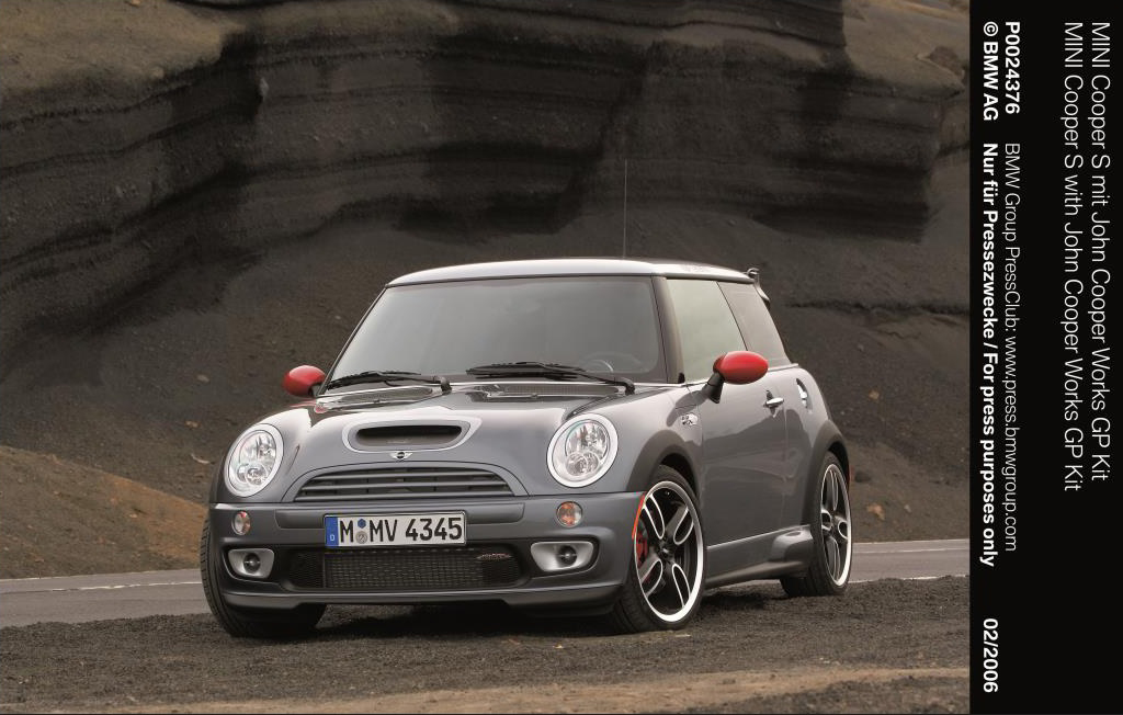 2006 MINI Cooper S with John Cooper Works GP Kit reviews library