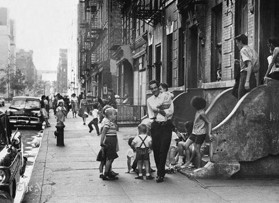 El barrio en los años 50
