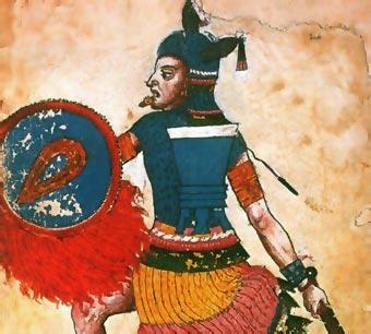 Representación de Nezahualcóyotl en el Códice Ixtlilxochitl (siglo XVI)