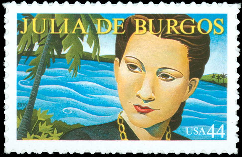 Sello de correo conmemorativo lanzado hace dos años por la Administración Postal de los EE.UU.