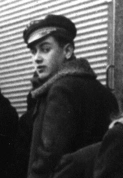 Una fotografía del joven Celan