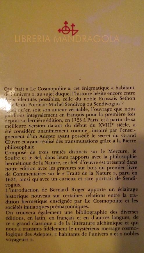 mandrake ésotérique Bibliothèque Italie