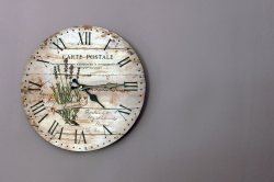 Small Of Rustic Wall Clock
