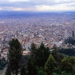 , Bogot·, Colombia --- Bogota from Monserrate Peak --- Image by © Larry Lee Photography/Corbis