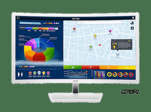 AOC_Monitor Curvo_C2783FQ_A