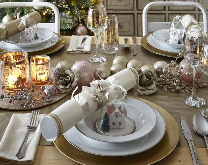 Como Decorar Una Mesa De Navidad O Mesa Navidena
