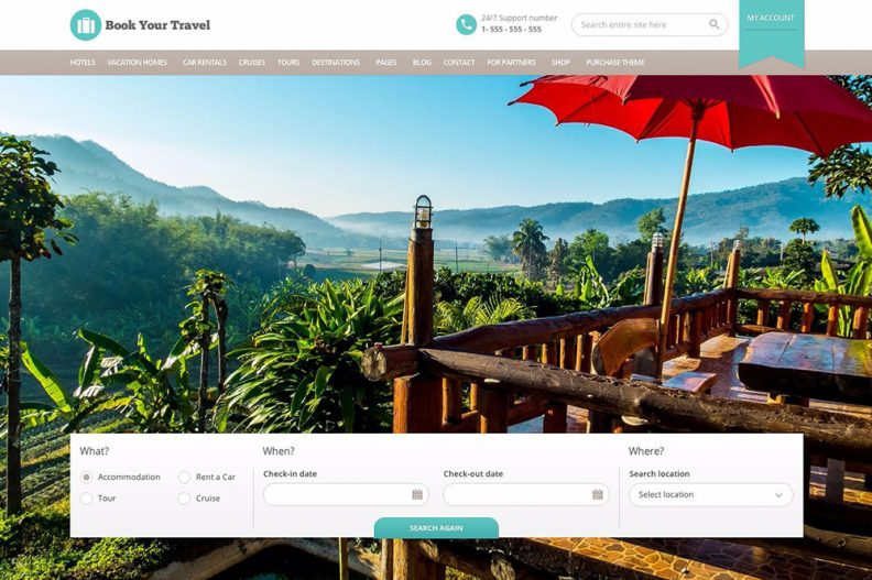 Top 20 Best WordPress Travel Themes for Agencies, Hotels and Blogs