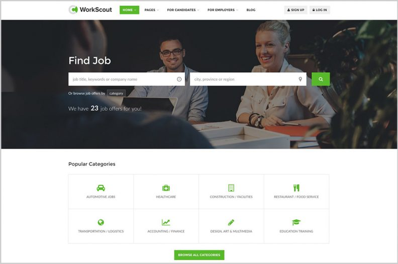 Top 10 Best Job Board and Vacancy Listing WordPress Themes of 2016