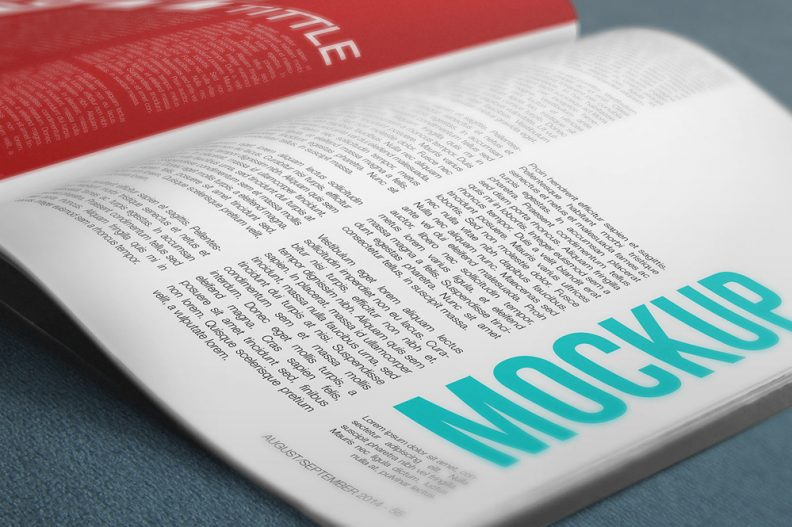 Top 15 Free Magazine Mockups  Templates PSD Of 2016 - Libthemes