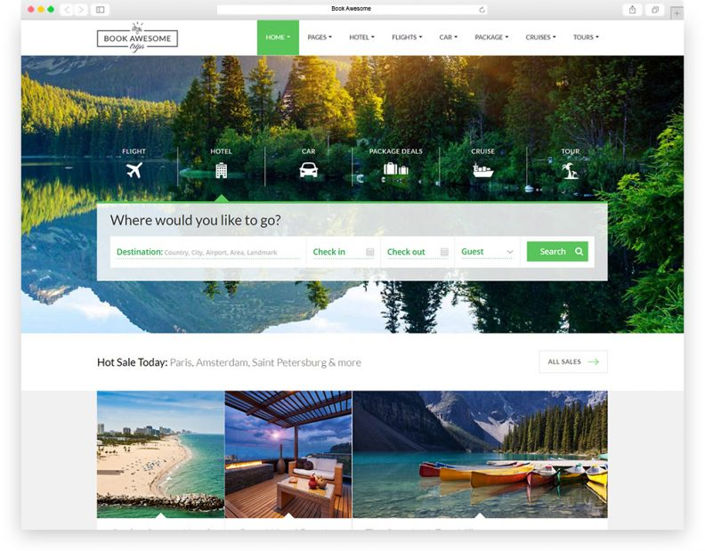 Top 15 Best Travel HTML Website Templates 2016 Edition - Libthemes - property management websites templates