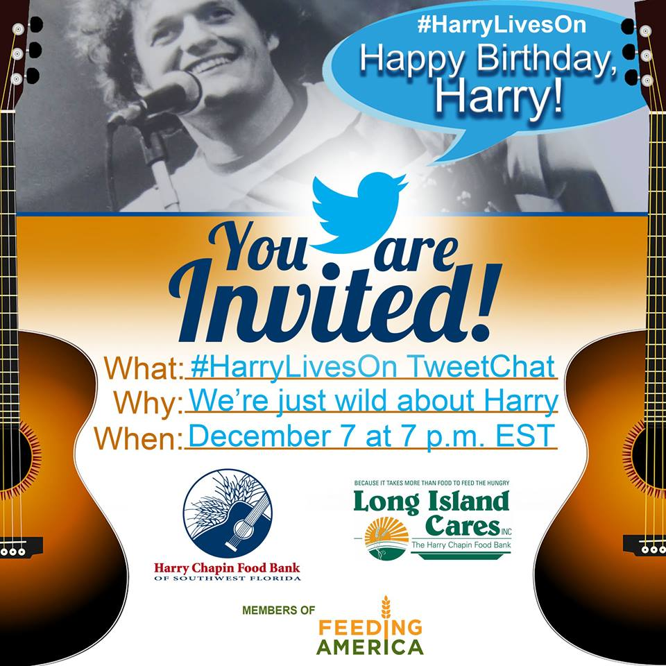 Long Island Soup Kitchen Volunteer Join Our Virtual Birthday Party For Harry Chapin Tonight