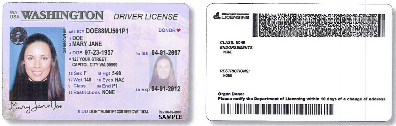 New license design, facial recognition to play latest role in