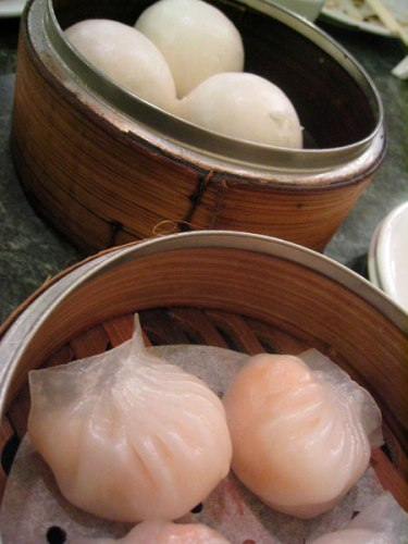 Shrimp dumplings (har gau) Photo Credit: Alyson Hurt