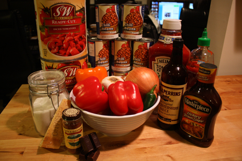 The Makings of the Best Chili Ever