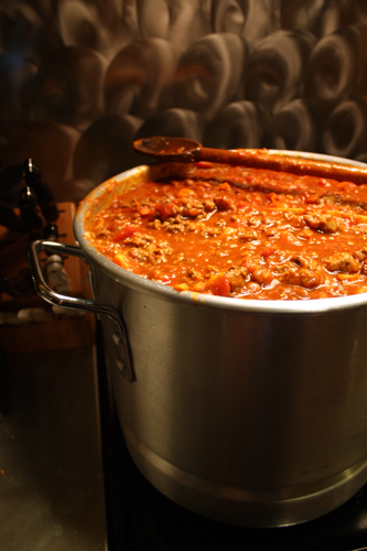 Big-Ass Pot of Chili