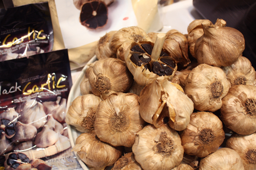 Black Garlic.  Black Magic.