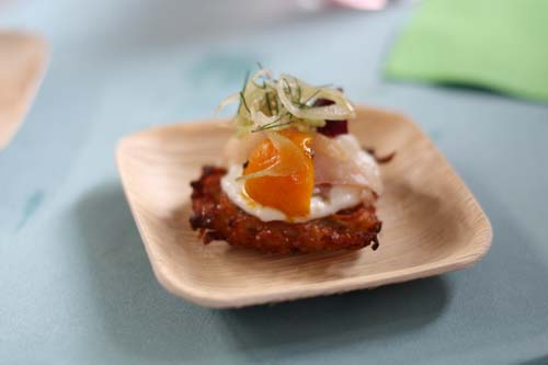Smoked Trout Potato Latke