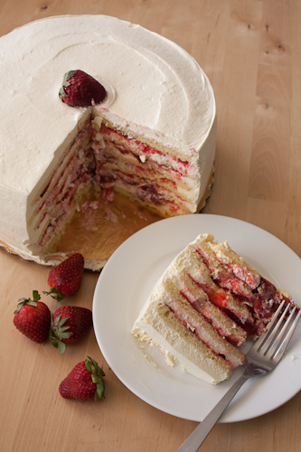 Smith Island Cakes, Strawberry