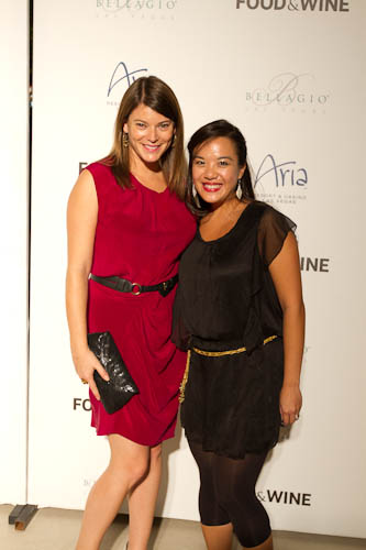 Gail Simmons and Stephanie Hua